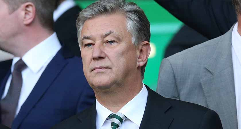 Celtic Chief Executive Peter Lawwell [Picture: Getty]