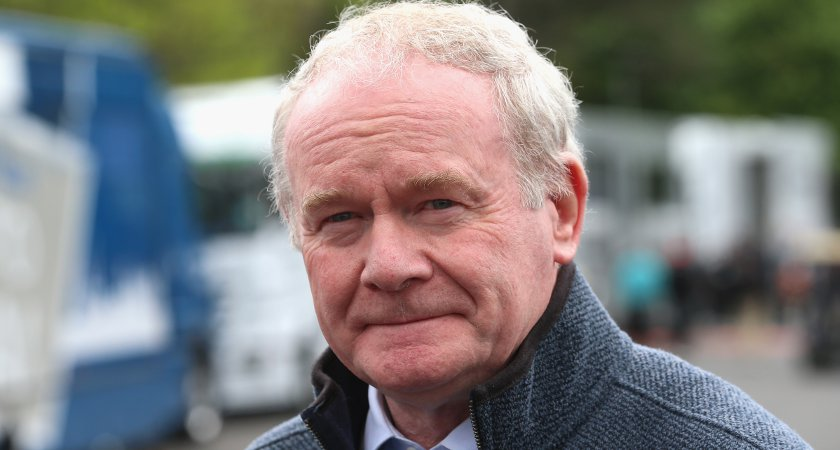 Martin McGuinness made the comments ahead of a new day of talks today. Picture: Getty Images