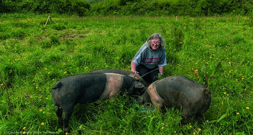 Eva Hegarty of Burren Free-Range Pork (Photo:  Carsten Krieger)