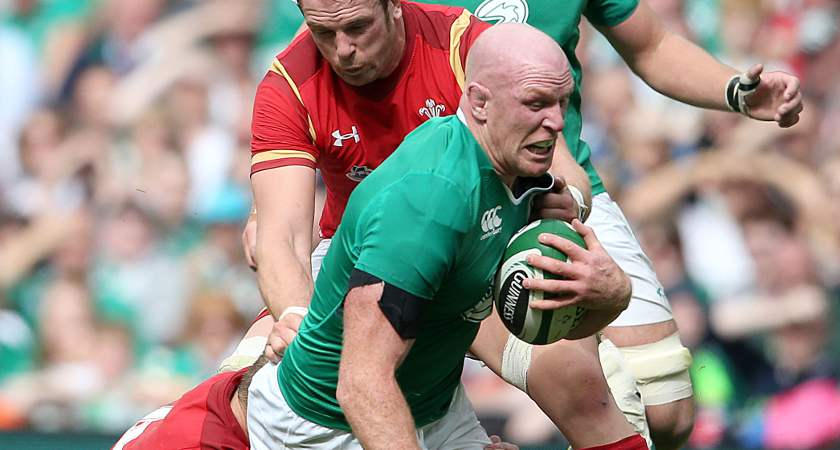 Paul O'Connell, Ireland's captain, will join Toulon after the Rugby World Cup [Picture: Inpho]