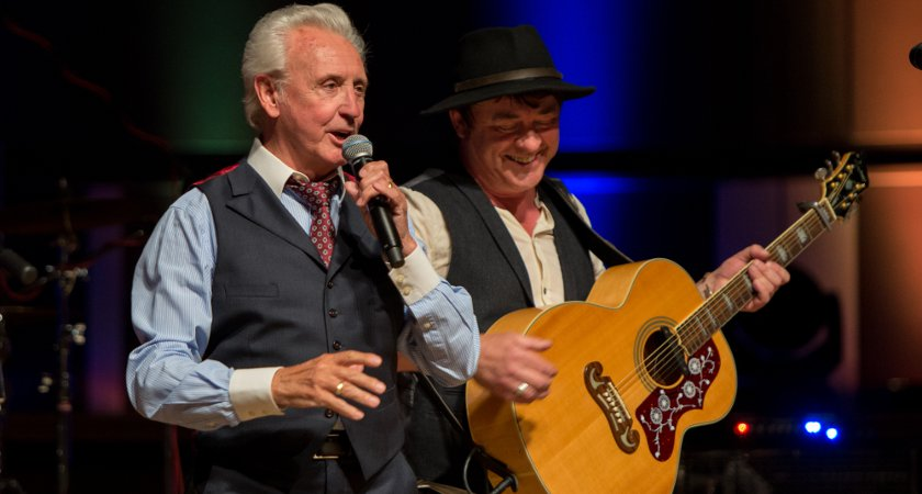 Tony Christie and Donal Rogers of Ranagri