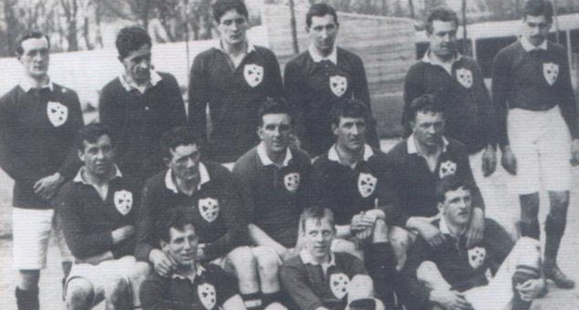 Ireland rugby team including William John Beatty