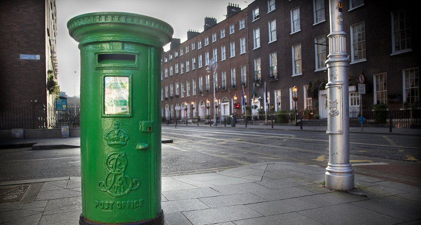 An Irish post box with Edward VII's monogram. Picture via Flickr