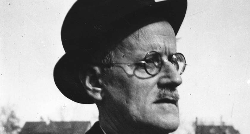 Irish writer James Joyce (1882 - 1941) in Zurich.    (Photo by Hulton Archive/Getty Images)