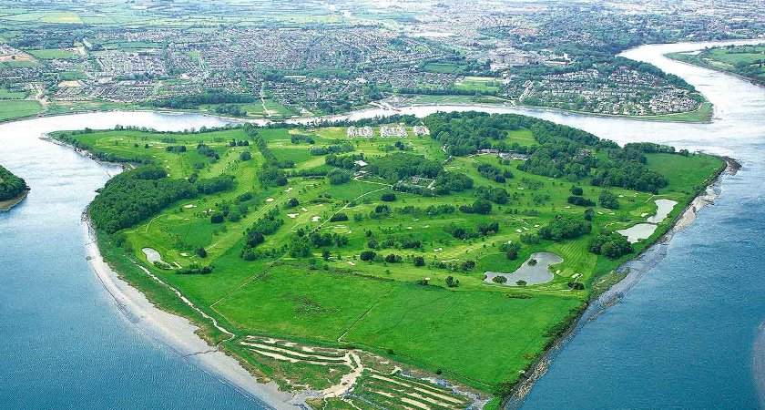 Waterford's Little Island is just outside the city. Picture: Waterfordcastleresort.com