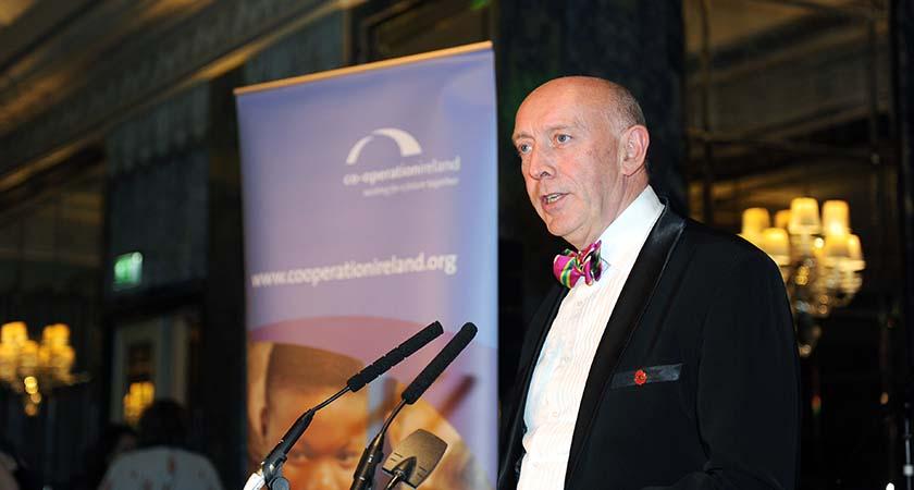 Co-Operation Ireland CEO Peter Sheridan. Photo - Malcolm McNally