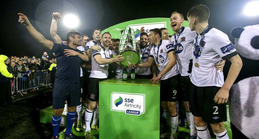 Dundalk lift the league title for the second season running [Picture: Inpho]