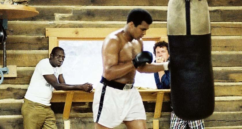 Muhammad Ali With Gene Kilroy [right]