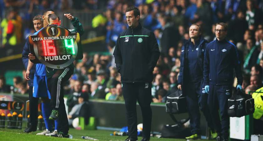 Celtic manager Ronny Deila [Picture: Getty]