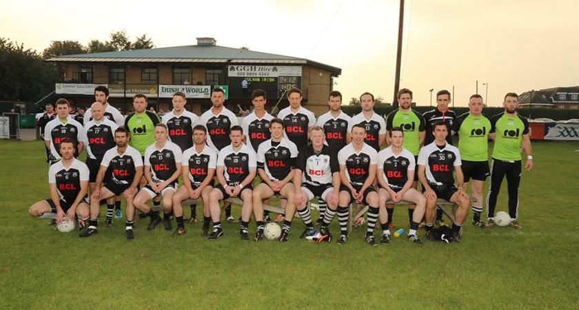 Underdogs: St Kiernan's pictured ahead of their semi-final win over Fulham Irish