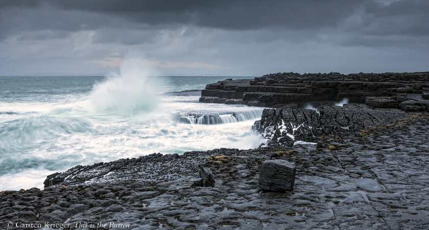 Doolin coast, the Burren, County Clare. taken from This is the Burren by Carsten Krieger, published by The Collins Press, 2015