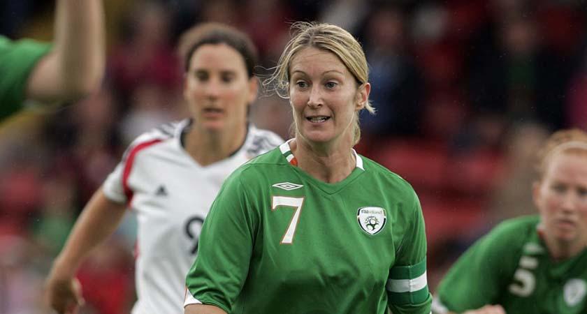 Women's World Cup Qualifier, Group 4, 26/8/2006 Republic of Ireland Ciara Grant Mandatory Credit ©INPHO/Tom Honan