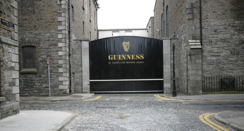 The Guinness Storehouse Gate. Picture: Tourism Ireland