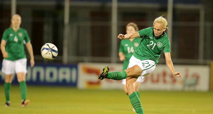2015 FIFA Women's World Cup Qualifier 7/5/2014 Republic of Ireland Ireland's Stephanie Roche Mandatory Credit ©INPHO/Morgan Treacy