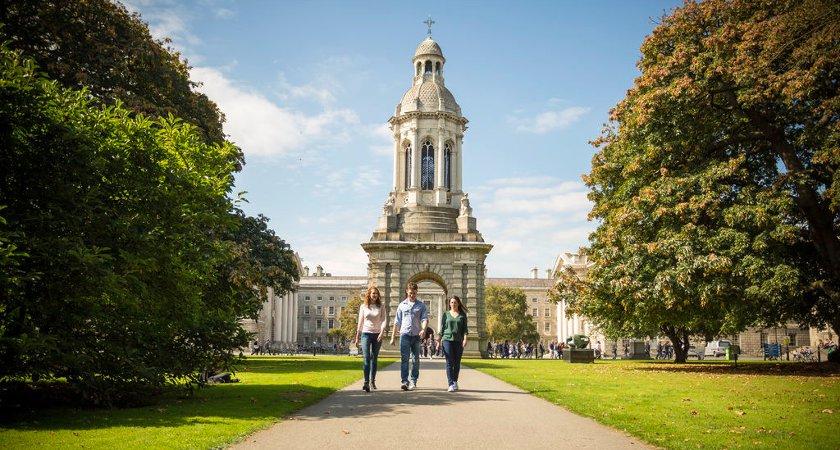Trinity College Dublin. Picture: Tourism Ireland