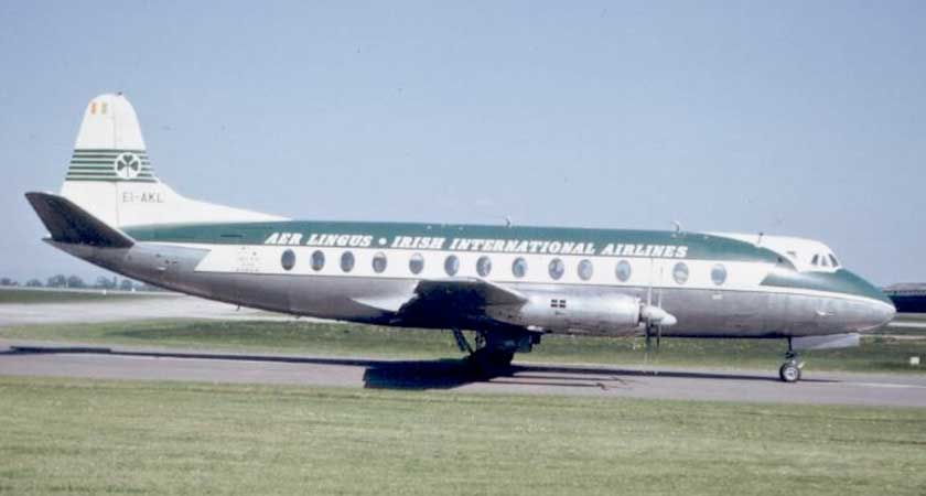 A Vickers Viscount 808, similar to the St Phelim model (Picture: Wikipedia)