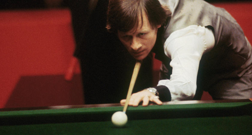 Alex Higgins in action in his prime [Picture: Getty]