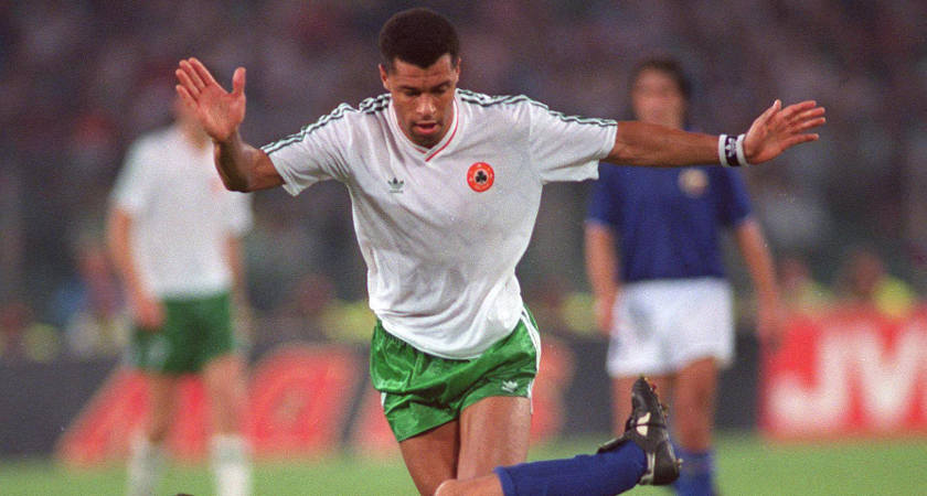 Paul McGrath played in three major tournaments for Ireland [Picture: Inpho]