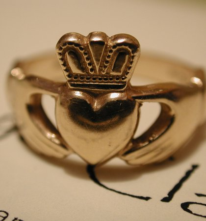 The Claddagh Ring. Picture: WikiCommons