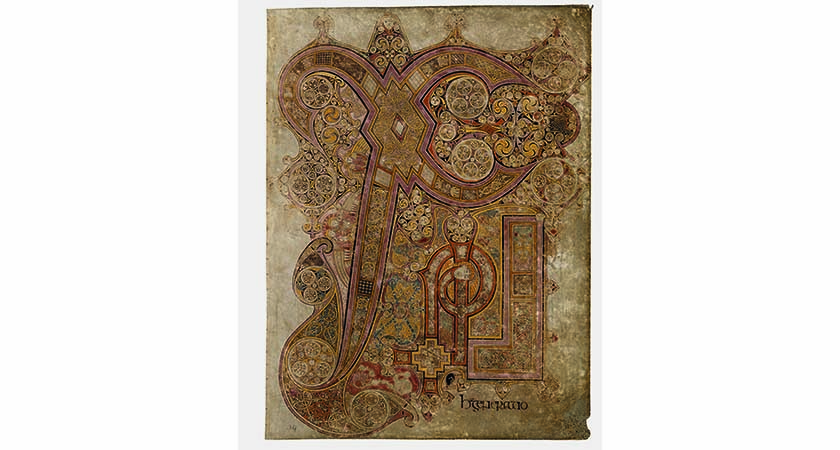 page book of kells-n