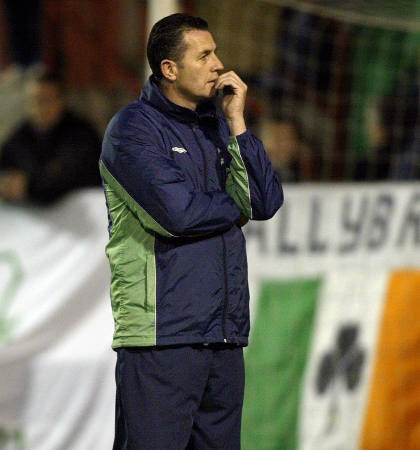 Liam O'Brien Shamrock Rovers days