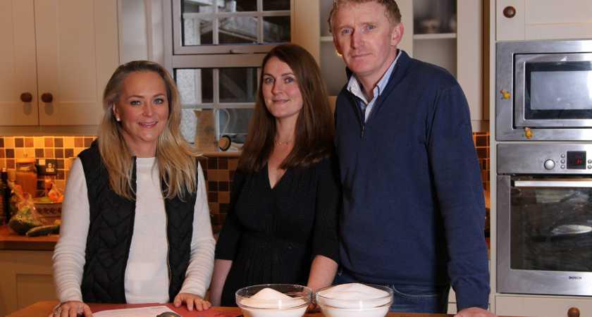 Sugar Crash Monday, 11th January on RTÉ One L-R : Dr. Eva Orsmond, Louise and Ollie Ryan