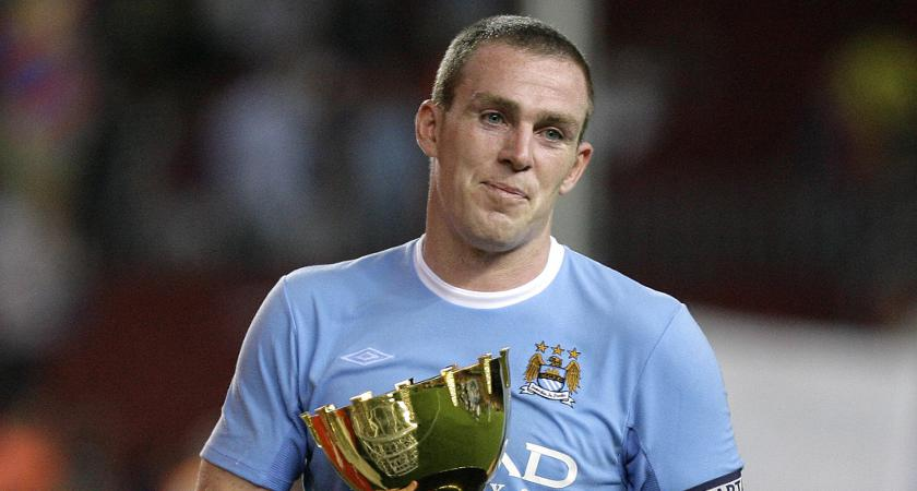 Richard Dunne in his Man City days [Picture: Getty]