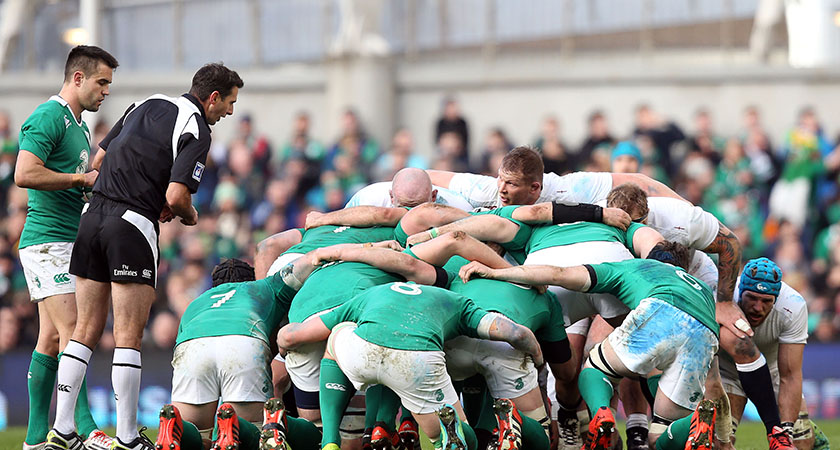 Ireland vs England  (Credit ©INPHO/Colm O'Neill)