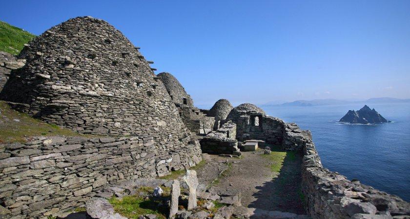 The monastic Island, Skellig Michael. Photo: Tourism Ireland/Valerie O'Sullivan