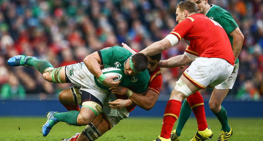 CJ Stander made his debut for Ireland [Picture: Inpho]