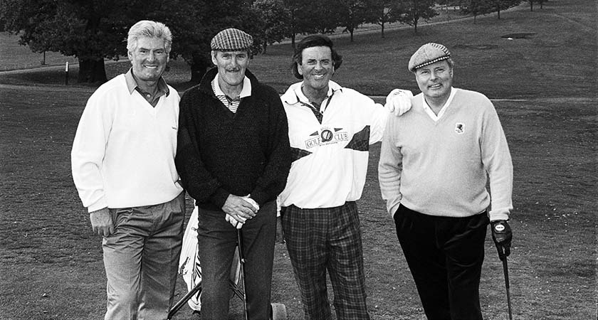 Ireland Fund of Great Brirain Golf day, Moor Park Golf Club, October 1990