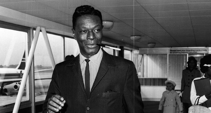 Nat King Cole, pictured circa 1963. Picture : Getty Images