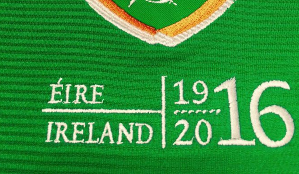 Ireland's crest for this Easter's friendlies [Picture: @UmbroIreland via Twitter]