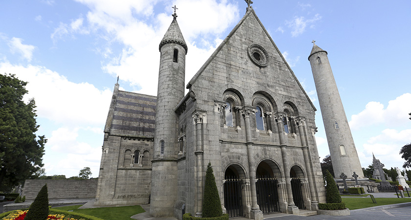 The Chapel in Glasnevin Cemetery, where the Necrology Wall is slated to be unveiled. (Picture: RollingNews.ie)