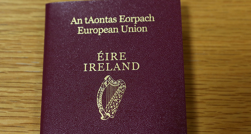 There has been a surge in numbers seeking Irish passports. (Picture: RollingNews.ie)