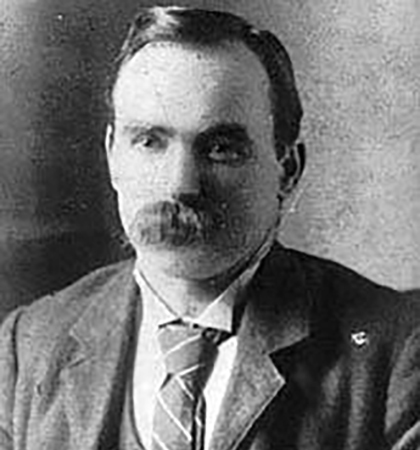Scottish-born Irish republican James Connolly. (Picture: WikiCommons)