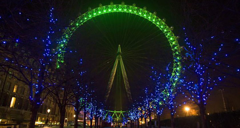 The London Eye. (Picture: Tourism Ireland)