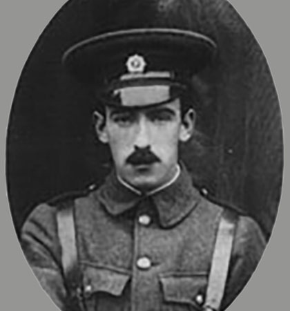 Ned Daly, who led the Irish Volunteers. (Picture WikiCommons)
