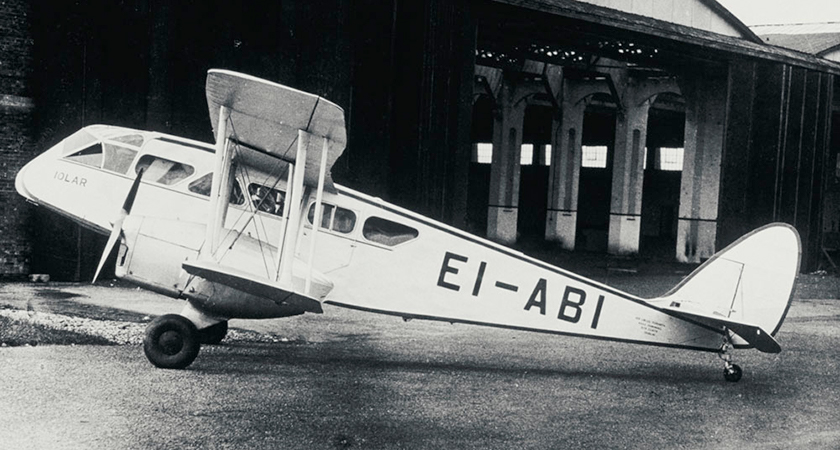 The very first Aer Lingus plane.