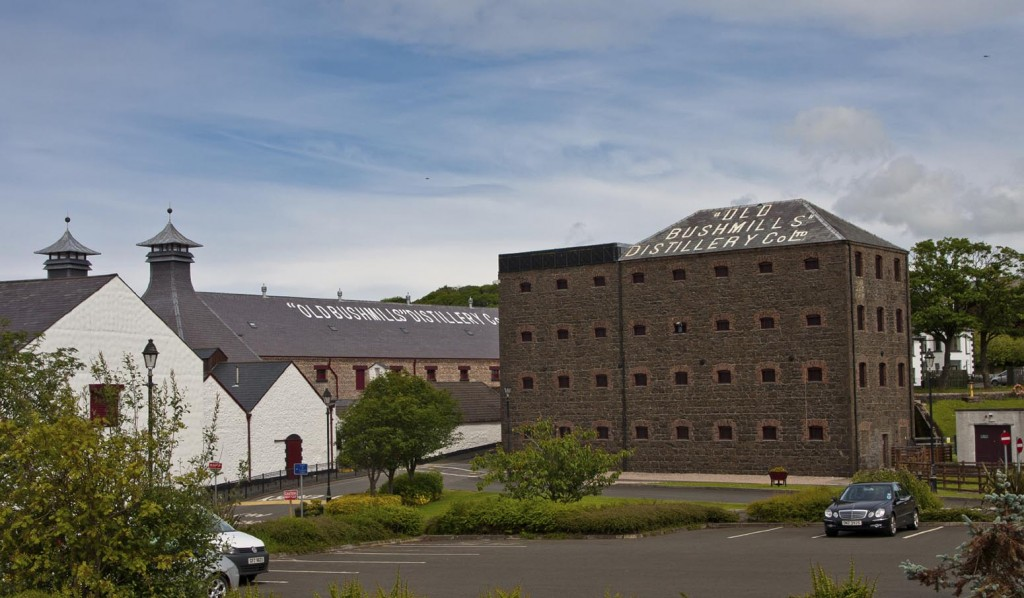 The world's oldest distillery — Bushmills in Co. Antrim