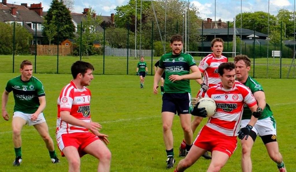 Glasgow Gaels men's team in action [Picture: Jenn Salfen]