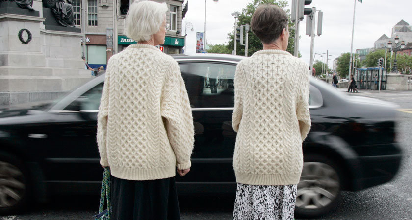 Matching jumpers. Well, this is awkward… (Picture: Mark Stedman/ RollingNews.ie)