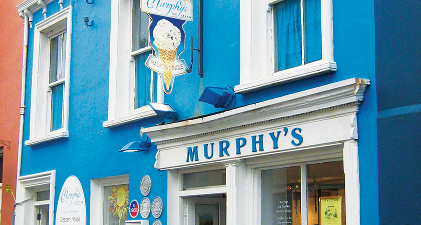 Murphy's Ice Cream, Strand Street, Dingle.