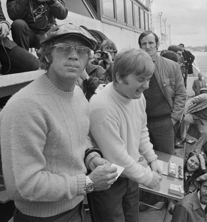 You may be cool, but you'll never be Steve McQueen at Le Mans in an Aran jumper cool… (Picture: Reg Lancaster/Hulton Archive/Getty Images)