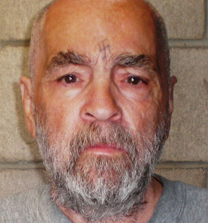 Beatles fan Charles Manson pictured in prison in 2009 (Picture: Getty Images)