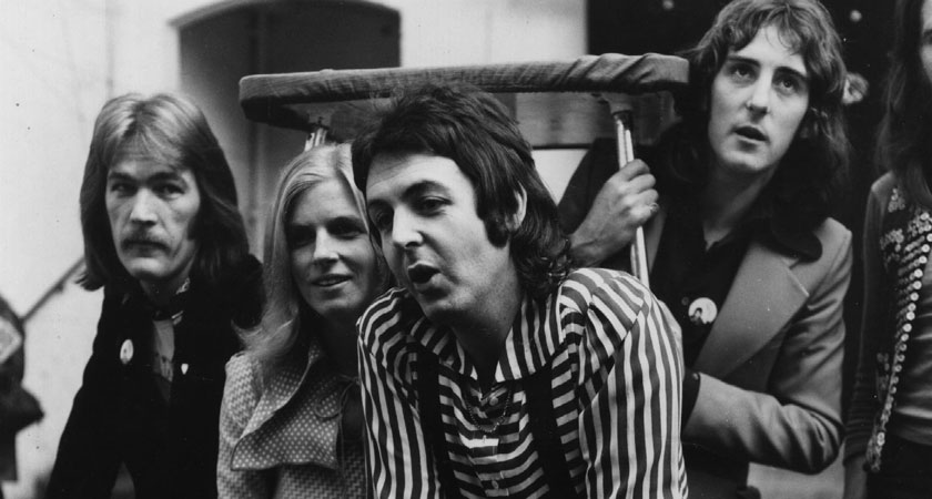 Paul McCartney and Wings (Picture: Getty Images)