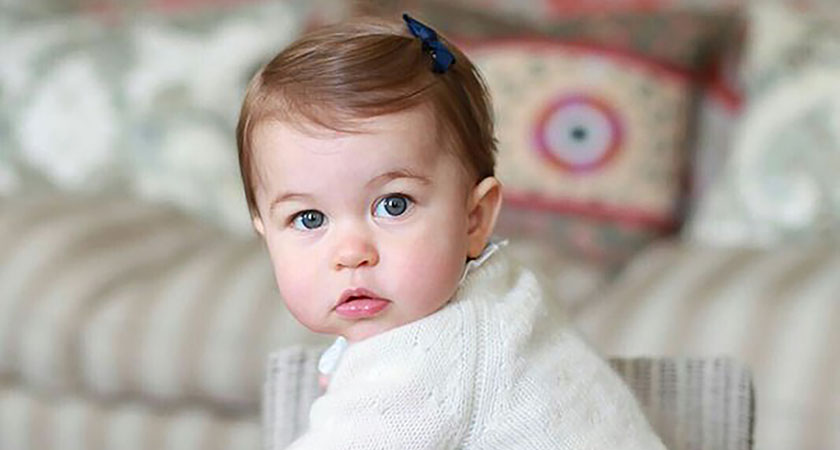 Princess Charlotte of Cambridge turns one today. (Picture: HRH the Duchess of Cambridge)