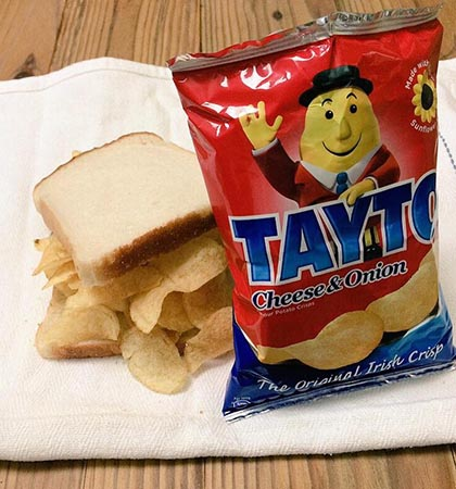 tayto sandwich