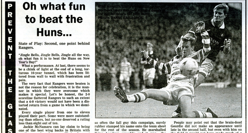 A snippet from The Irish Post archives, January 1998
