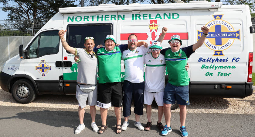 Northern Ireland fans are now as welcoming as any [©INPHO/Presseye/William Cherry]